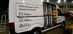 vw crafter брендирование